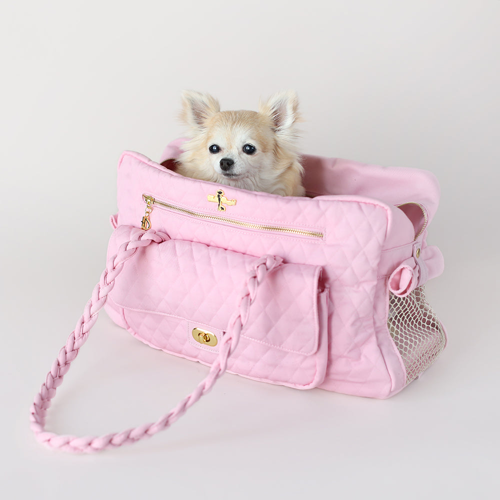 Porsha Pet Carrier: Pink