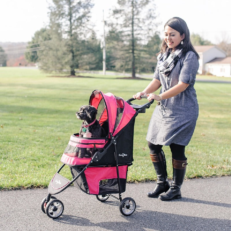 Regal Plus Pet Stroller: Raspberry Sorbet