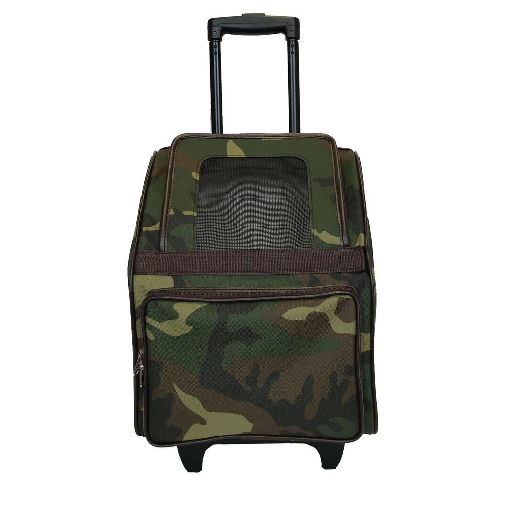 RIO Rolling Pet Carrier: Camo