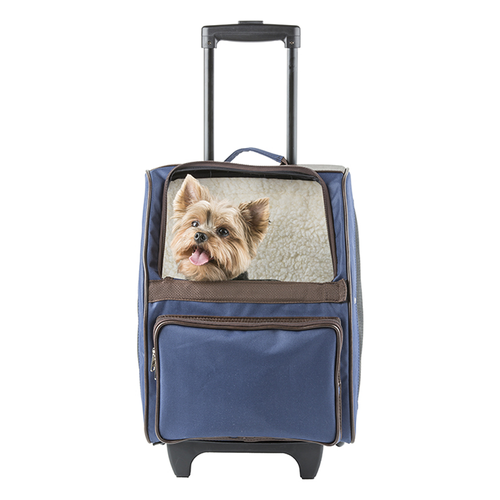RIO Rolling Pet Carrier: Navy