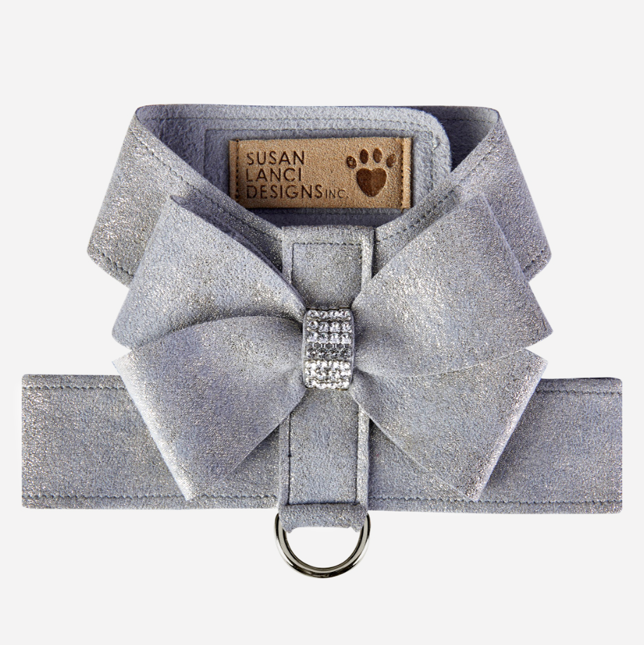 Nouveau Bow Tinkie Harness: Platinum Glitzerati