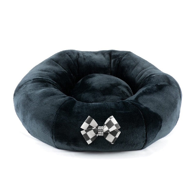 Round Spa Windsor Bed: Black