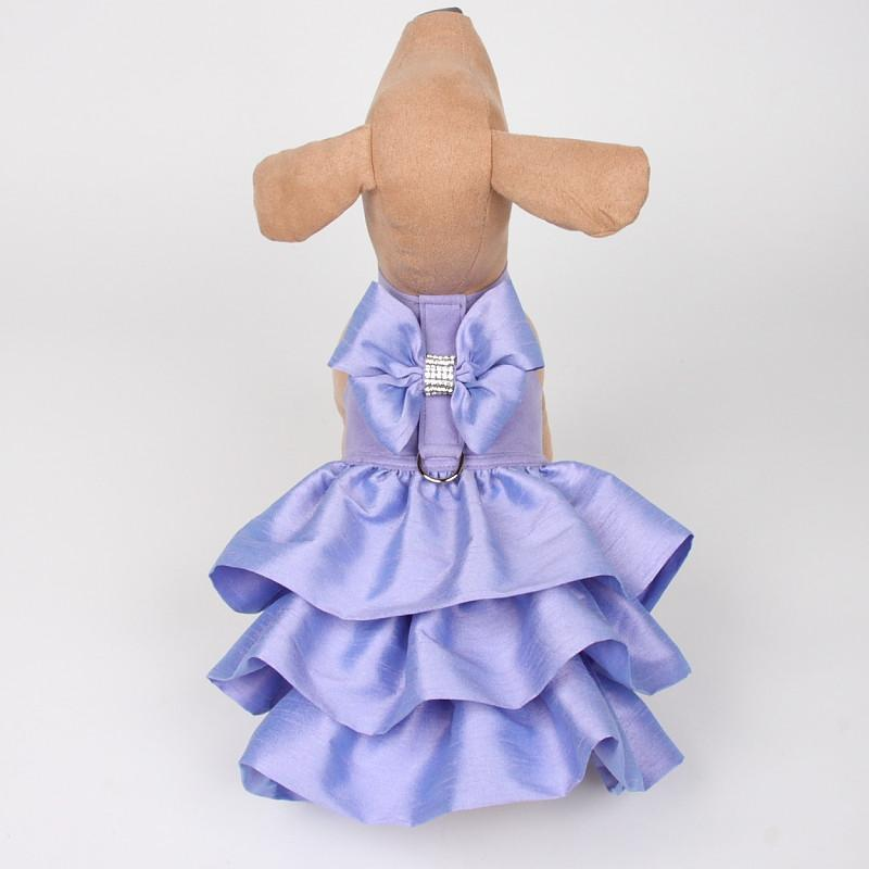 Madison Dog Dress Harness: Lilac