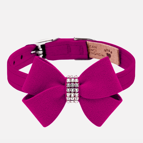 Nouveau Bow Collar: Wine
