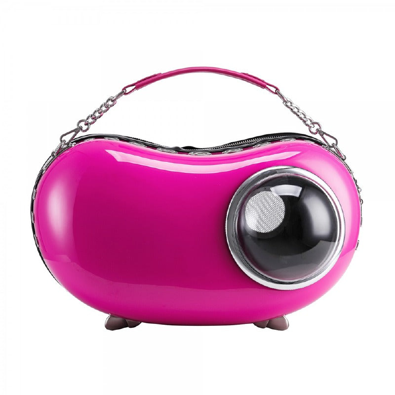 Bubble Peapod Pet Carrier; Magenta ; U-Pet