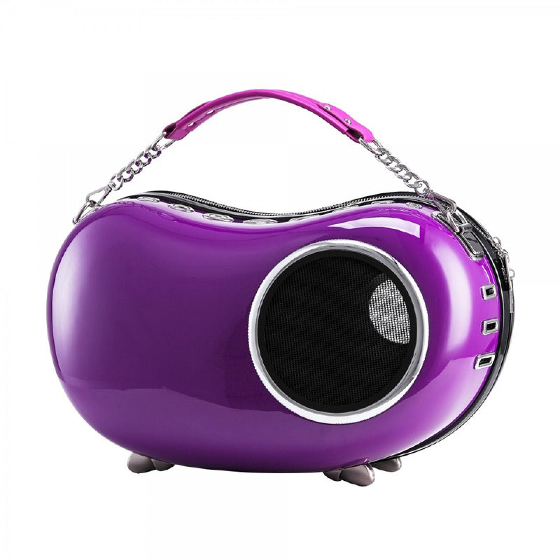 Bubble Peapod Pet Carrier: Purple