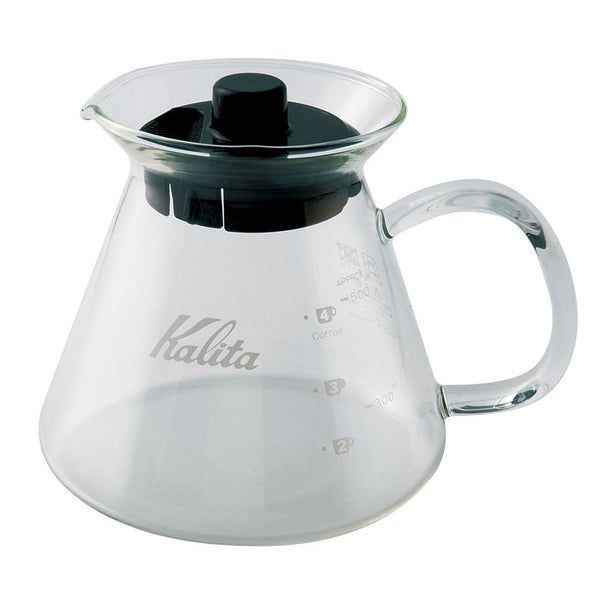 Kalita glass server 500ml specialty coffee
