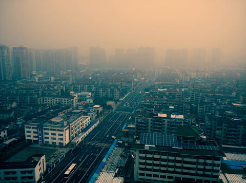 Air pollution in major cities affect the health of millions of people