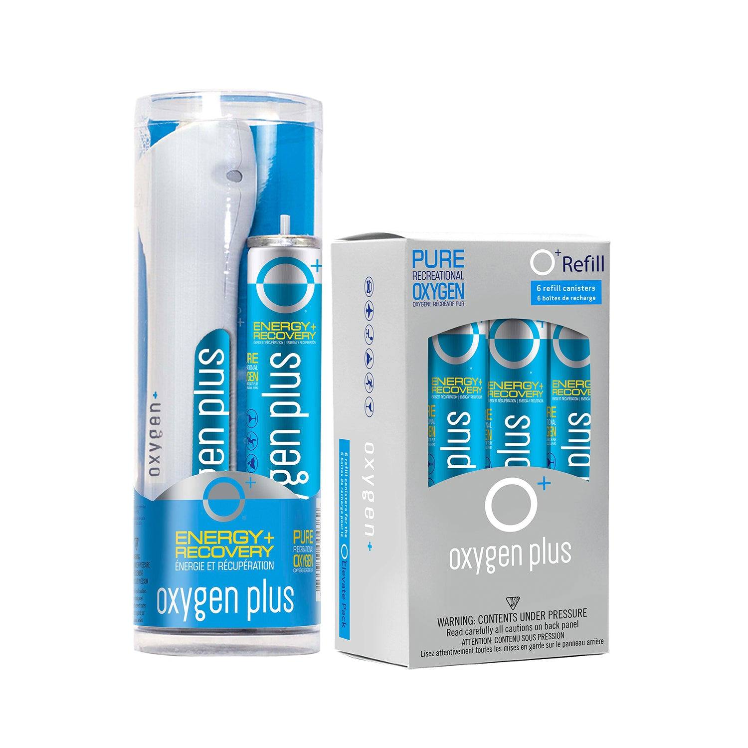 O+ Elevate Refill Starter-Pack: O+ Elevate Pack & 6 O+ Refills