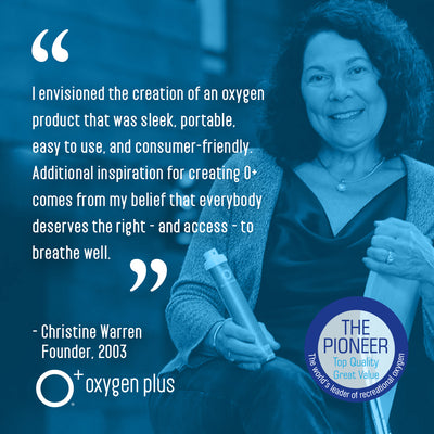 O-Stick - Shell for O+ Refills - Oxygen Plus