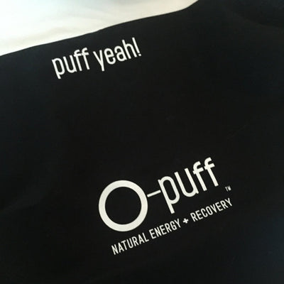O-puff Bandana - Black - The Oxygen Plus Store - 1