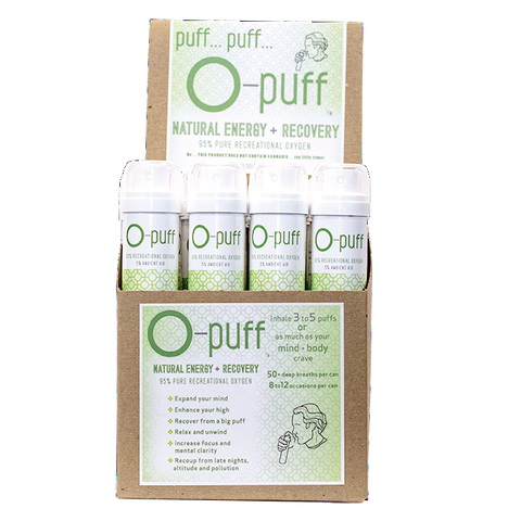 O-puff - Natural - 24-pack without cannabis leaf