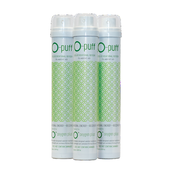 O-puff - Natural - 3-pack without cannabis leaf - The Oxygen Plus Store - 1
