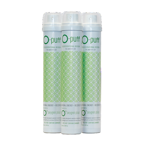 O-puff - Natural - 3-pack without cannabis leaf