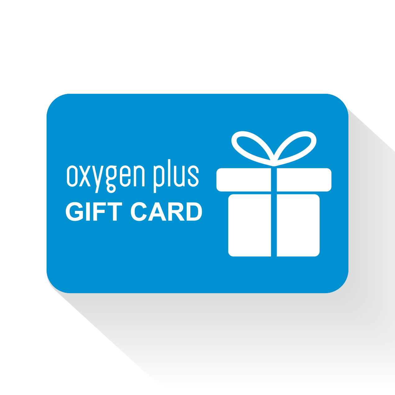 Oxygen Plus Online Gift Card Product View