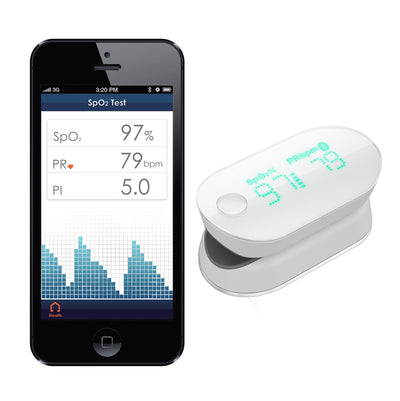 O+ Bundle - O+ Elevate Pack & iHealth Wireless Pulse Oximeter