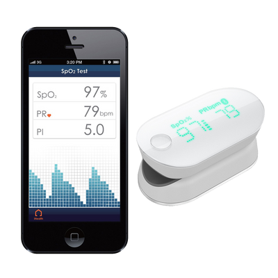O2 Naked Air - 6-pack & iHealth Wireless Pulse Oximeter