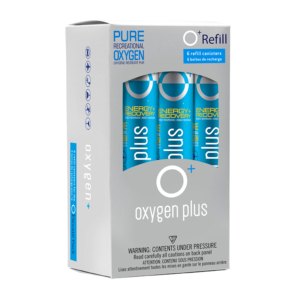 O+ Refill - 6-pack - Oxygen Plus