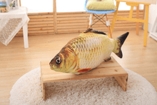 Load image into Gallery viewer, Cat Kicker Fish Toy | Cat Wagging Fish Realistic Plush