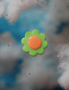 Mint & Peach Daisy Pop