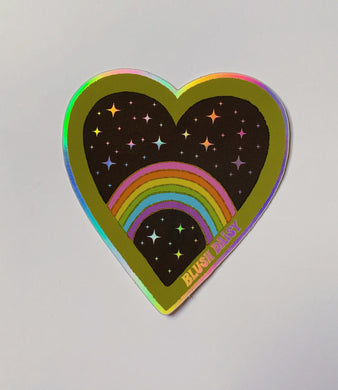 Galaxy Rainbow Sticker