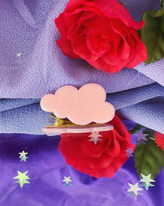 Pink Cloud Barrette