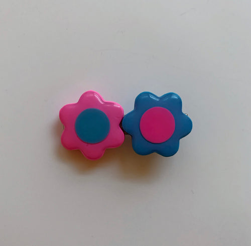 Blue and Pink Mix & Match Barrette