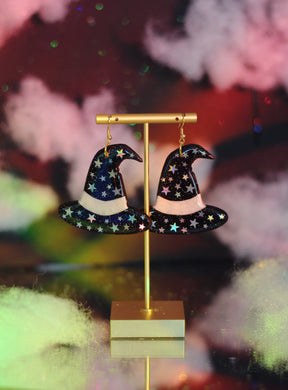 Starry Night Sky Witch Hats