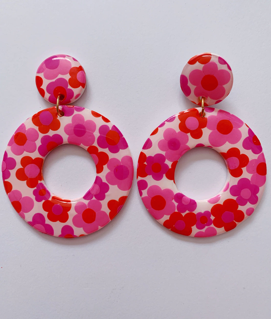 XL Valentine's Day Floral Hoops