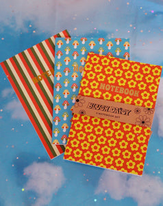 Retro Notebook Set