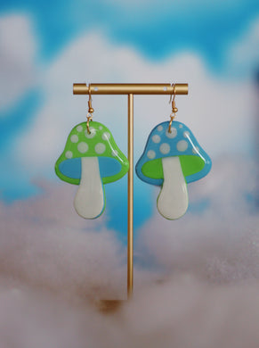 *SALE* Mini Blue and Mint Mix & Match Mushrooms