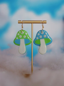 *SALE* Mini Blue & Mint Mix & Match Mushrooms