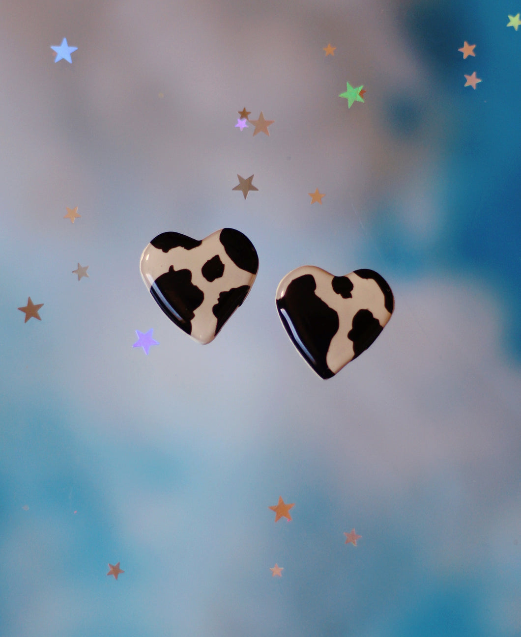 Cow Heart Studs