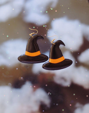 *SALE* Black and Orange Witch Hats