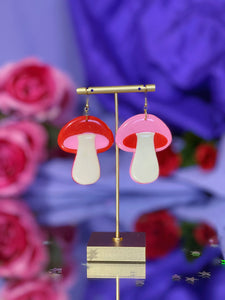 *SALE* Pink and Red Mix & Match Mini Funky Shrooms