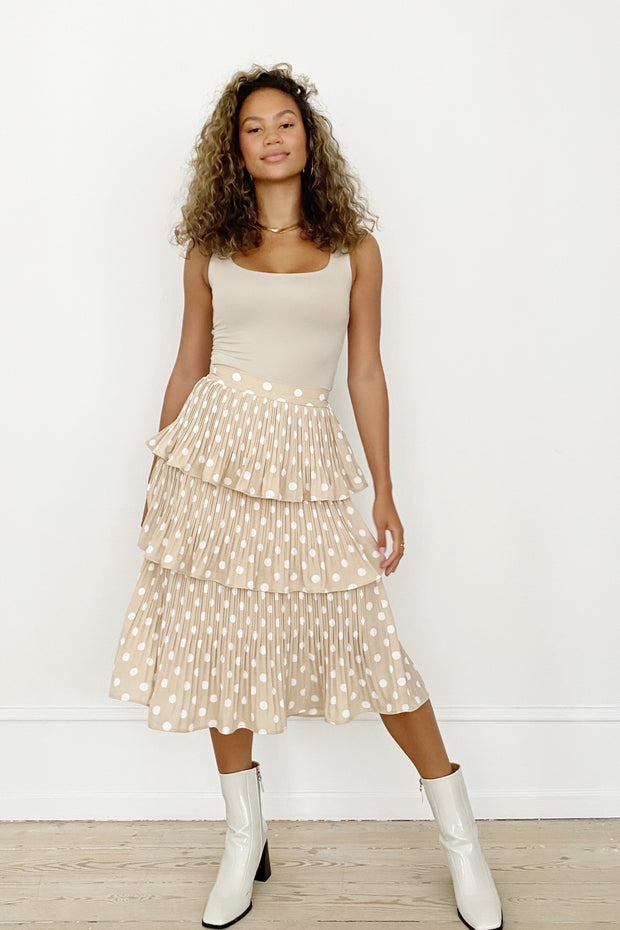 PARIS SKIRT - DOTTED