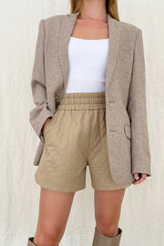 VALLEY QUILTED SHORTS
