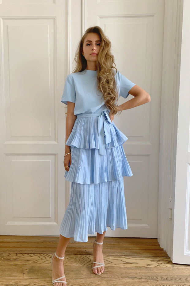 PARIS DRESS - BABY BLUE