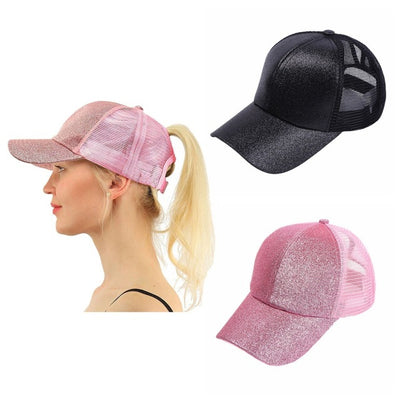 Hot Spring Look - 2019 Fashion Ponytail Baseball Cap