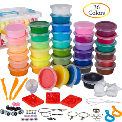 PolyClay 36 Colors Air Dry Clay Kit