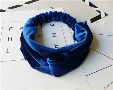 Suede Headband Ultimate Hair Style Accessory