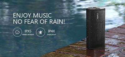 Portable Bluetooth Speaker - Loudspeaker Waterproof Outdoor Surround Sound System 10W