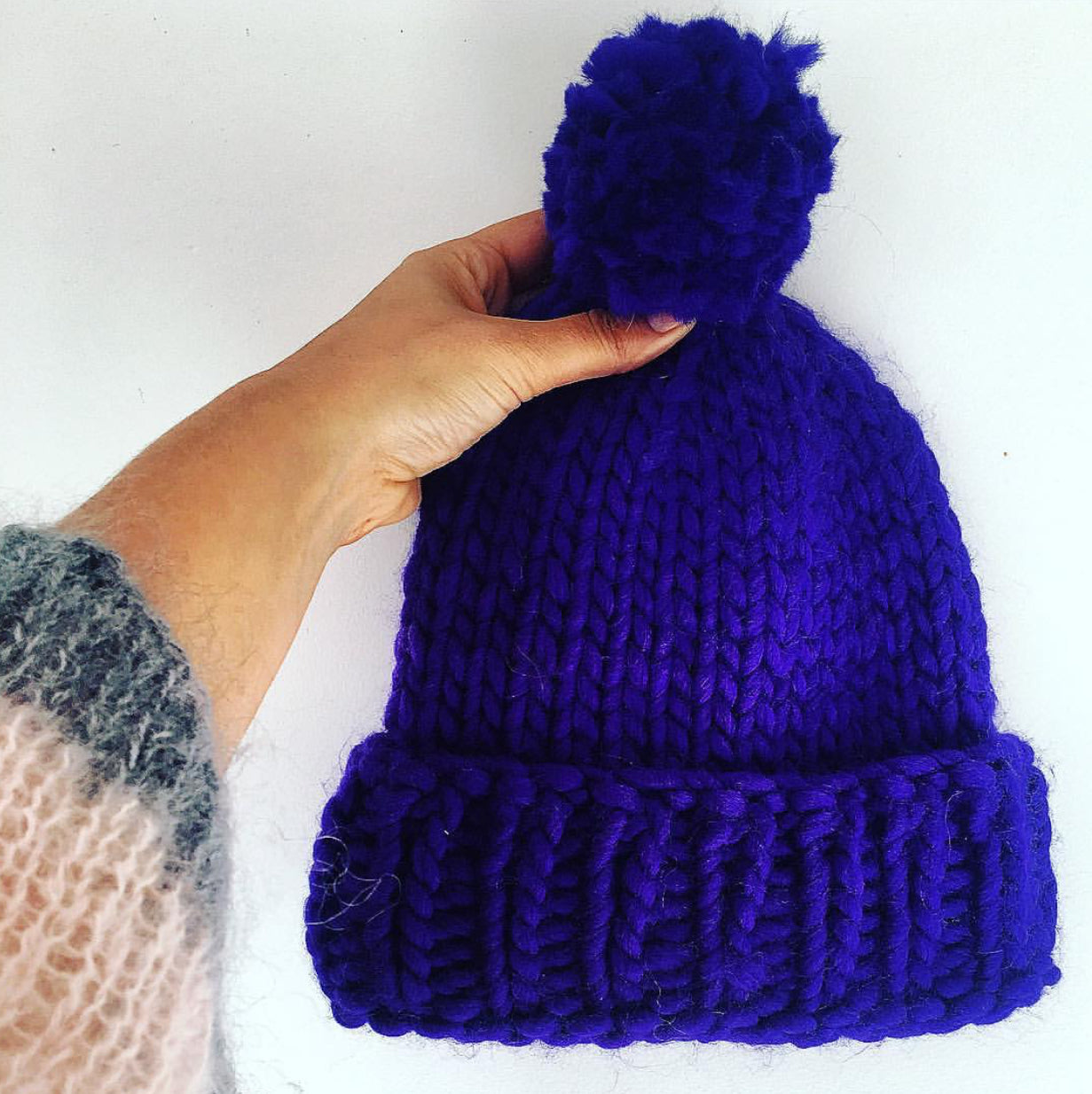 Learn to Knit Your Own Beanie