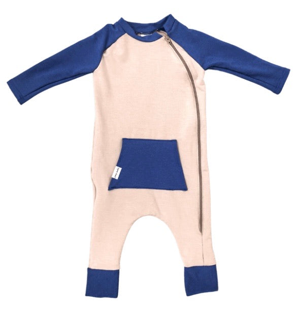 All Play Everyday Romper Blue Sapphire