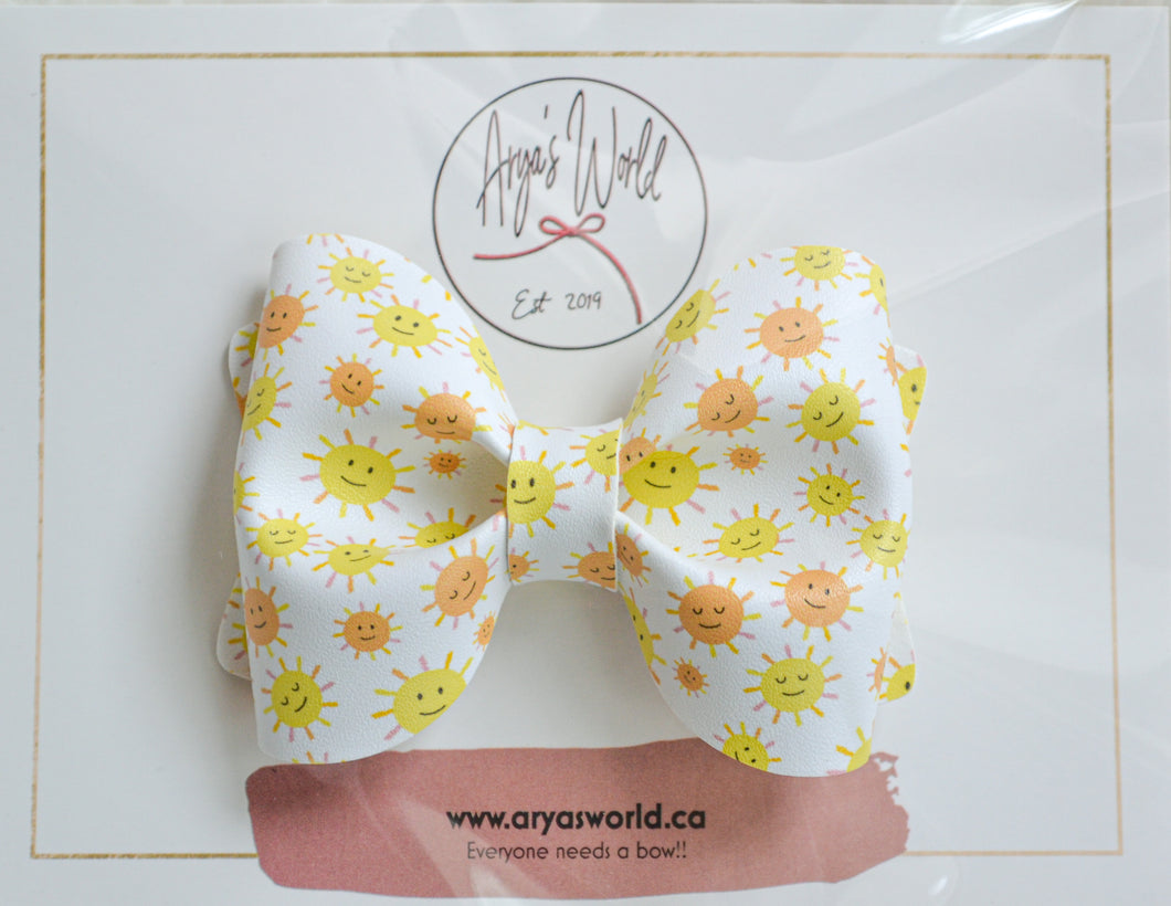 Sunshine Audrey Bow