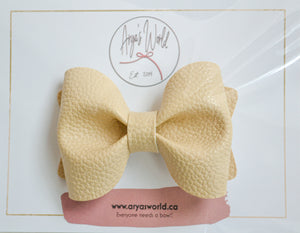 Off White Audrey Bow