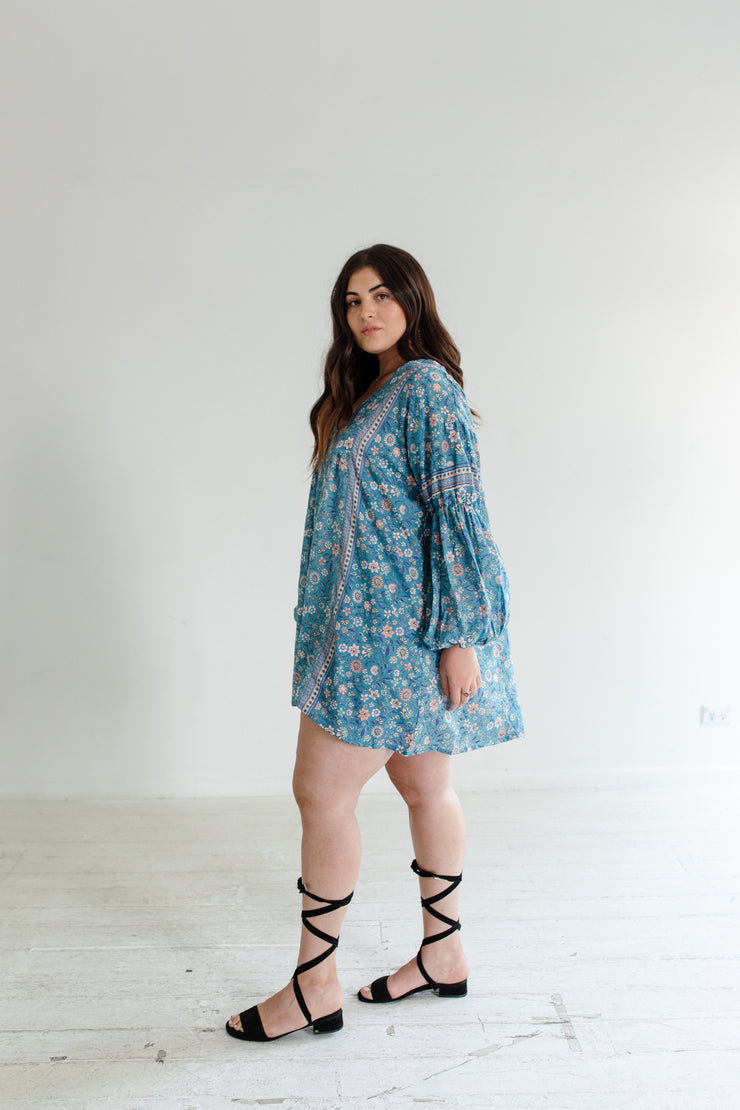 Bloom Tunic - Teal