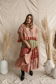 Sundance Tiered Maxi Skirt