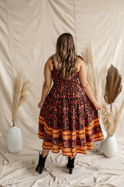 Dawn Marrakesh Tiered Midi Dress