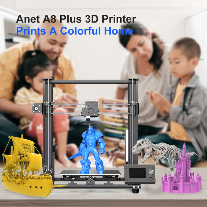 Black Friday Hot Sales - Anet 3D Printer Sparks Creation with Making